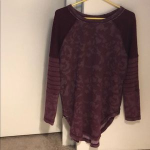 Free people sweater- size small/petite.